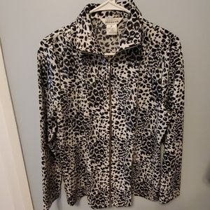 Misook Leopard Print Jacket - Like new